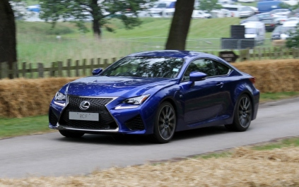 Lexus RCF Cholmondeley Power and Speed 2016