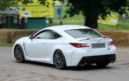 Lexus RCF rear Cholmondeley Power and Speed 2016