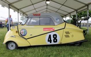 Messerschmitt bubble car raceing car Cholmondeley Power and Speed 2016