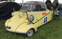 Messerschmitt micro car race car Cholmondeley Power and Speed 2016