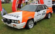 Nissan Sylvia rally car Marlboro Cholmondeley Power and Speed 2016