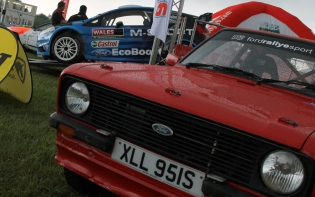 Rally Fords Cholmondeley Power and Speed 2016