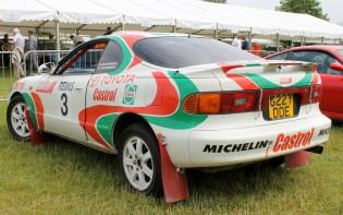 Toyota Celica Castrol WRC Cholmondeley Power and Speed 2016