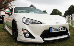 Toyota GT86 Castrol front Cholmondeley Power and Speed 2016