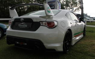 Toyota GT86 Castrol rear wing Cholmondeley Power and Speed 2016