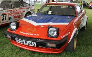 Triumph TR7 rally car Cholmondeley Power and Speed 2016