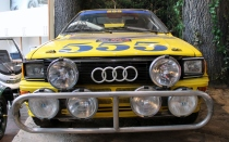 Audi Quattro rally Beaulieu