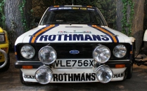 Ford Escort Rothmans rally Beaulieu