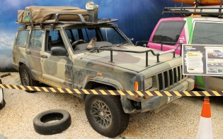 Richard Hammond Jeep Cherokee Top Gear Beaulieu