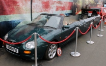Richard Hammond MGF Limo Top Gear Beaulieu