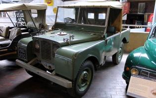 Series 1 Land Rover Beaulieu